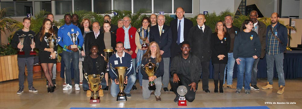 Trophées Sportifs de la Ville de Mantes la Jolie AS Mantaise Octobre 2016